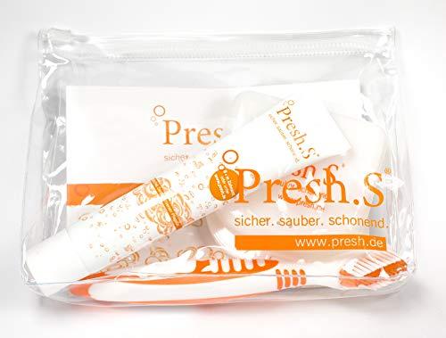 Presh.S Zahnspangen- Aufbissschienenreiniger-Set mit Box